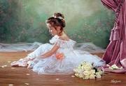 Пазл Маленькая балерина