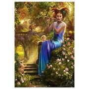Пазл-картина ''Колыбельная флейтистки''